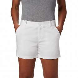 Columbia W Bonehead Stretch Short - White