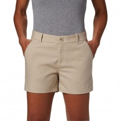 Columbia W Bonehead Stretch Short - Fossil