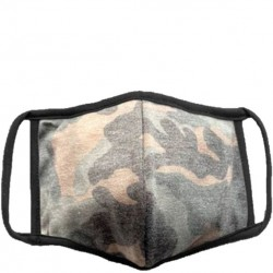 Soft Lined Face Mask - Camo