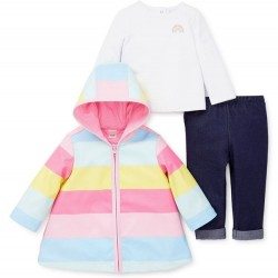 Infant Girl 3 PC Cold Weather Outfit