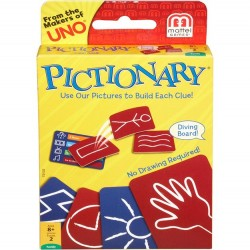 Mattel Pictionery Card Game