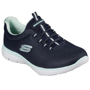 Skechers Summits - Navy/Aqua