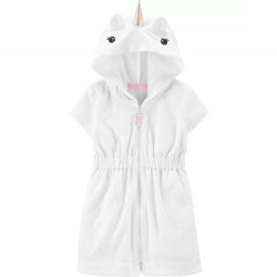 Toddler Girl Swim - Carters Unicorn Hooded Cover-Up