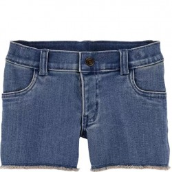4 to 6X Girls Carters Denim Shorts