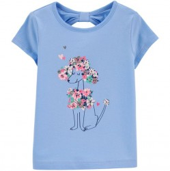 Toddler Girl Carters Poodle Top