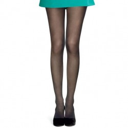 Hue Sheer Tights with Control Top - Black