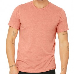 Canvas Super Soft Cotton Blend Shirt - Heather Sunset