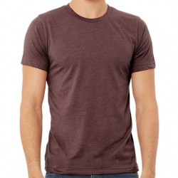 Canvas Super Soft Cotton Blend Shirt - Heather Maroon