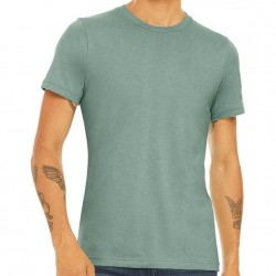 Canvas Super Soft Cotton Blend Shirt - Heather Dusty Blue