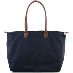 Joseph d'Arezzo Nylon Travel Tote - Navy