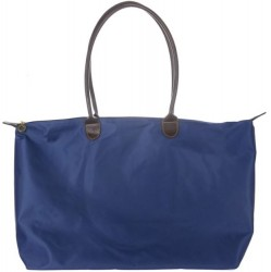 Joseph d'Arezzo Nylon Travel Tote - Blue