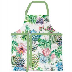 Michel Design Works Pink Cactus - Apron