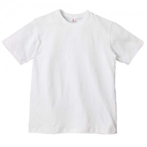 Canvas 100% Ringspun Cotton Short Sleeve Crewneck  T-shirt - WHITE