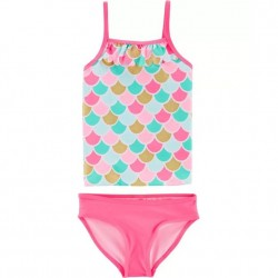 Toddler Girl Swim - Carters 2 PC Mermaid Tankini