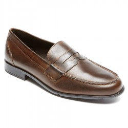 Rockport Classic Loafer Penny - Dark Brown