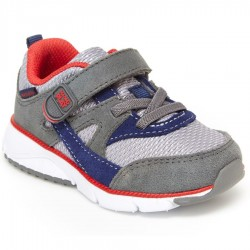 Stride Rite Made2Play Ace - Grey/Blue/Red