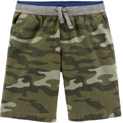 4 to 7 Boys Carters Camo Pull On Shorts