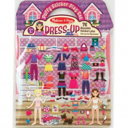 Dress Up Puffy Stickers