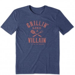 Life is Good T-Shirt - Grillin' Villain