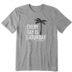 Life is Good T-Shirt - Saturday