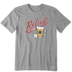 Life is Good T-Shirt - Relief Pitcher