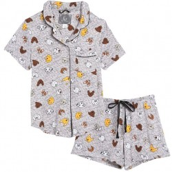 Short Pajama Set - Doggies