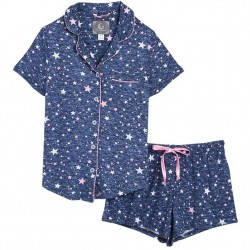 Short Pajama Set - Stars