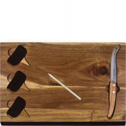 6 PC Delio Cheese Board Set