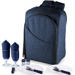 Picnic Time Colorado Backpack for 2 - Navy