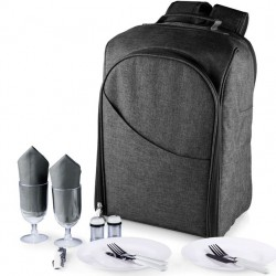 Picnic Time Colorado Backpack for 2 - Charcoal