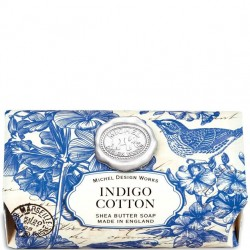 Michel Design Works Indigo Cotton - Bath Soap Bar
