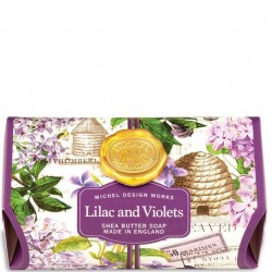 Michel Design Works Lilac and Violets - Bath Soap Bar