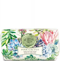 Michel Design Works Pink Cactus - Bath Soap Bar