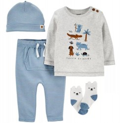 Infant Boy Carters 4 PC Take Me Home Outfit