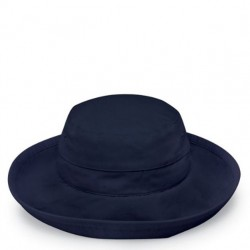 Wallaroo Casual Microfiber Traveler Hat - Navy