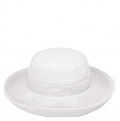 Wallaroo Casual Cotton Traveler Hat - White