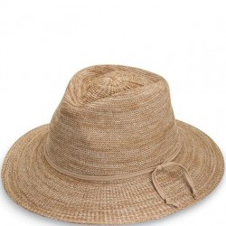 Wallaroo Victoria Fedora Hat - Mixed Camel