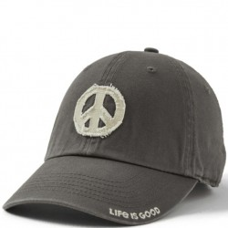 Life is Good Cap - Peace in Grey