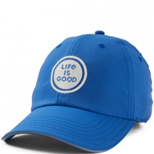 Life is Good Cap - Logo in Royal Blue