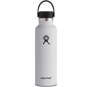 Hydro Flask 21 oz. Standard Bottle - White