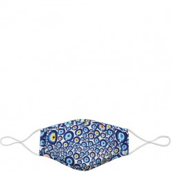 Fabric Face Mask - Blue Dots