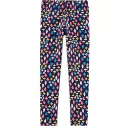 4 to 6X Girls Carters Floral Navy Legging
