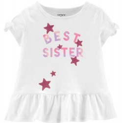 Toddler Girl Carters Best Sister Tee