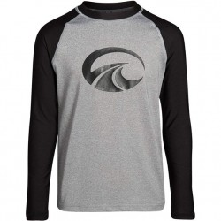 Boys 8 to 20 Rashguard - Grey