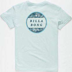 Boys 8 to 20 Billabong Short Sleeve T - Coastal Blue