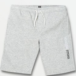 Boys 8 to 20 Volcom Fleece Shorts - Heather Grey