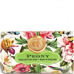 Michel Design Works Peony - Bath Soap Bar