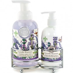 Michel Design Works Lavender & Rosemary - Soap and Lotion Caddy