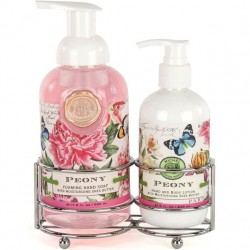 Michel Design Works Peony - Soap and Lotion Caddy