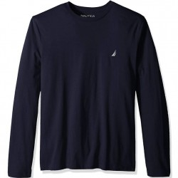Nautica Long Sleeve T-Shirt - Navy